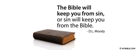 The Bible Will Keep You From Sin
