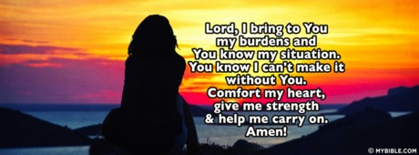 Lord I Bring To You My Burdens
