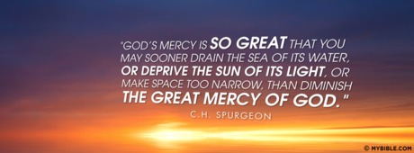 God's Mercy Is So Great