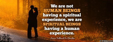 Spiritual Beings Having A Human Experience