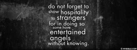 Some Have Entertained Angels Without Knowing