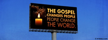 The Gospel Changes People