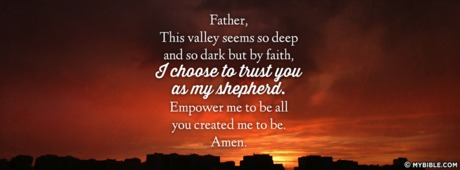 I Choose To Trust You As My Shepherd