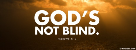God's Not Blind