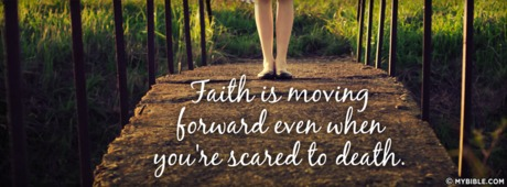 Faith is Moving Forward
