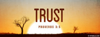 Trust in the Lord with all your heart, And lean...
