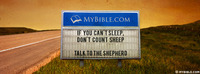 If you can't sleep, don't count sheep. Talk to...