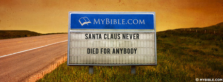 Santa Claus never died for anybody.