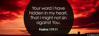 Your Word I Have Hidden In My Heart