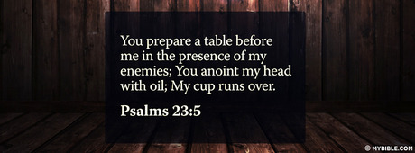 Psalms 23 5 Nkjv You Prepare A Table Before Me Facebook