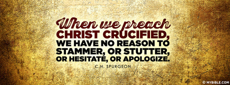 "Image result for ""We preach Christ crucified."""