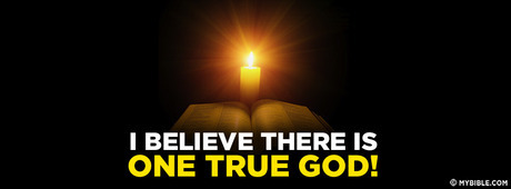 i believe there is only one god We firmly believe and confess without reservation that there is only one true god, eternal infinite (immensus) and unchangeable, incomprehensible, almighty and ineffable, the father and the son and the holy spirit three persons indeed, but one essence, substance or nature entirely simple 8.