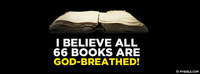 I believe all 66 books are God-breathed!