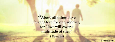 Love Will Cover A Multitude Of Sins
