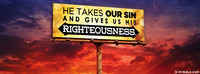 He Gives Us His Righteousness.