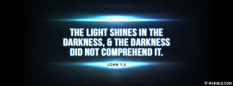 Image result for light shines in the darkness
