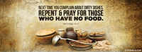 Pray For Those Without Food