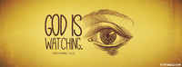 God Is Watching You.