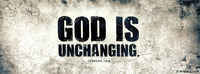God Is Unchanging.