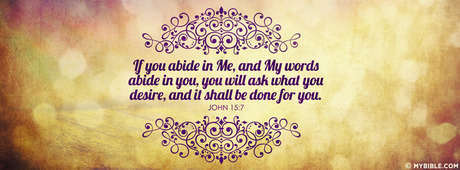If You Abide In Me.