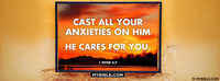 Jesus Cares For You.