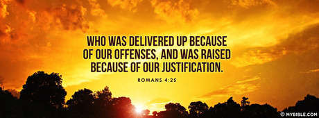Jesus Died Because Of Our Offenses.