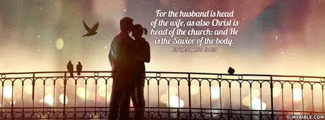 The Husband Is Head Of The Wife.
