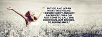 Calling Sinners To Repentance.