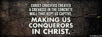 Christ Crucified Is The Gospel.