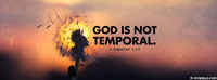 God Is Not Temporal.