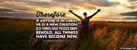If Anyone Is In Christ, He Is A New Creation