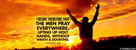 Lifting Up Holy Hands, Without Wrath & Doubting