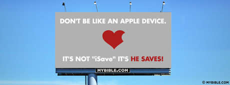 Don't Be Like An Apple Device