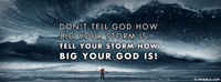 How Big Your God Is