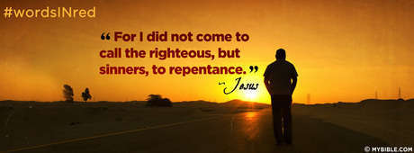 For I Did Not Come To Call The Righteous