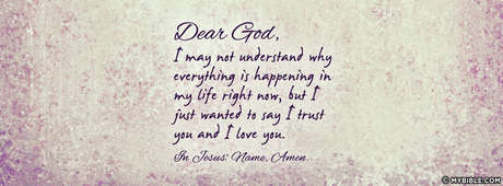 I Trust You And I Love You