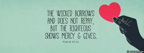 The Wicked Borrows And Does Not Repay